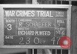 Image of war crimes trials Tokyo Japan, 1947, second 1 stock footage video 65675044596