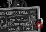 Image of war crimes trials Tokyo Japan, 1948, second 2 stock footage video 65675044598