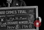 Image of war crimes trials Tokyo Japan, 1948, second 3 stock footage video 65675044598
