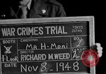 Image of war crimes trials Tokyo Japan, 1948, second 5 stock footage video 65675044598