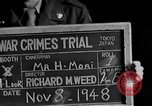 Image of war crimes trials Tokyo Japan, 1948, second 6 stock footage video 65675044598