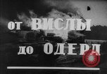 Image of Red Army Poland, 1945, second 6 stock footage video 65675044602
