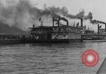 Image of President  and Mrs. Herbert Hoover aboard U.S. Greenbrier steam ship Saint Louis Missouri USA, 1929, second 5 stock footage video 65675044613