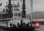Image of President  and Mrs. Herbert Hoover aboard U.S. Greenbrier steam ship Saint Louis Missouri USA, 1929, second 8 stock footage video 65675044613