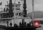 Image of President  and Mrs. Herbert Hoover aboard U.S. Greenbrier steam ship Saint Louis Missouri USA, 1929, second 9 stock footage video 65675044613