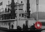 Image of President  and Mrs. Herbert Hoover aboard U.S. Greenbrier steam ship Saint Louis Missouri USA, 1929, second 10 stock footage video 65675044613