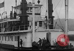 Image of President  and Mrs. Herbert Hoover aboard U.S. Greenbrier steam ship Saint Louis Missouri USA, 1929, second 11 stock footage video 65675044613