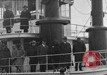Image of President  and Mrs. Herbert Hoover aboard U.S. Greenbrier steam ship Saint Louis Missouri USA, 1929, second 12 stock footage video 65675044613