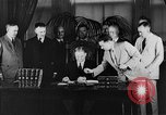 Image of President Herbert Hoover Washington DC USA, 1932, second 10 stock footage video 65675044620