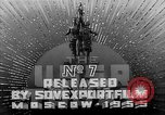 Image of 37th anniversary of Soviet Army and Navy Moscow Soviet Union, 1955, second 9 stock footage video 65675044643