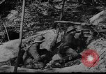 Image of American soldiers in trenches near front in World War 1 France, 1917, second 2 stock footage video 65675044671