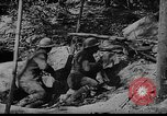 Image of American soldiers in trenches near front in World War 1 France, 1917, second 3 stock footage video 65675044671