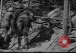 Image of American soldiers in trenches near front in World War 1 France, 1917, second 4 stock footage video 65675044671