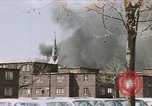Image of Smoke from fires seen during riots Baltimore Maryland USA, 1968, second 1 stock footage video 65675044706