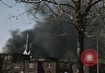 Image of Smoke from fires seen during riots Baltimore Maryland USA, 1968, second 9 stock footage video 65675044706
