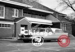 Image of 1956 station wagon with power automated features Chicago Illinois USA, 1956, second 2 stock footage video 65675044718