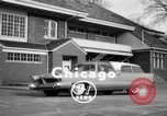 Image of 1956 Chrysler Plymouth Plainsman station wagon car by Ghia  Chicago Illinois USA, 1956, second 3 stock footage video 65675044718