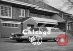Image of 1956 Chrysler Plymouth Plainsman station wagon car by Ghia  Chicago Illinois USA, 1956, second 4 stock footage video 65675044718