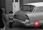Image of 1956 Chrysler Plymouth Plainsman station wagon car by Ghia  Chicago Illinois USA, 1956, second 10 stock footage video 65675044718