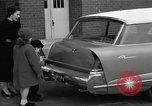 Image of 1956 station wagon with power automated features Chicago Illinois USA, 1956, second 12 stock footage video 65675044718