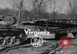 Image of folding bridge Virginia United States USA, 1955, second 7 stock footage video 65675044721