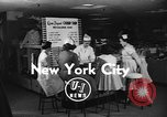 Image of Overweight youth in America New York United States USA, 1955, second 1 stock footage video 65675044722