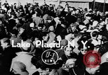 Image of Olympic bobsled trials Lake Placid New York USA, 1955, second 5 stock footage video 65675044724