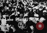 Image of Olympic bobsled trials Lake Placid New York USA, 1955, second 7 stock footage video 65675044724