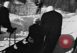 Image of Olympic bobsled trials Lake Placid New York USA, 1955, second 10 stock footage video 65675044724