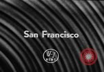 Image of Lions parade San Francisco California USA, 1957, second 5 stock footage video 65675044728