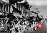 Image of Lions parade San Francisco California USA, 1957, second 8 stock footage video 65675044728