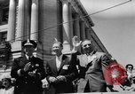 Image of Lions parade San Francisco California USA, 1957, second 12 stock footage video 65675044728