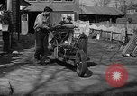 Image of home-made steam-powered automobile Jamesburg New Jersey USA, 1940, second 4 stock footage video 65675044738