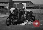 Image of home-made steam-powered automobile Jamesburg New Jersey USA, 1940, second 8 stock footage video 65675044738