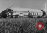 Image of crashed airliner Holland Netherlands, 1953, second 11 stock footage video 65675044740