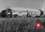 Image of crashed airliner Holland Netherlands, 1953, second 12 stock footage video 65675044740