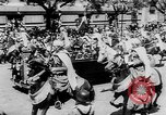 Image of presidential welcome Spain, 1953, second 9 stock footage video 65675044741