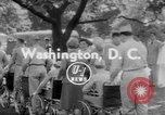 Image of President Dwight Eisenhower Washington DC USA, 1953, second 1 stock footage video 65675044743