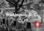 Image of President Dwight Eisenhower Washington DC USA, 1953, second 2 stock footage video 65675044743