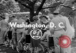 Image of President Dwight Eisenhower Washington DC USA, 1953, second 3 stock footage video 65675044743