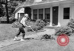 Image of educated lawn mower New Jersey United States USA, 1953, second 6 stock footage video 65675044745