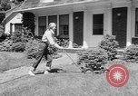 Image of educated lawn mower New Jersey United States USA, 1953, second 8 stock footage video 65675044745
