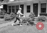 Image of educated lawn mower New Jersey United States USA, 1953, second 9 stock footage video 65675044745