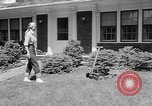 Image of educated lawn mower New Jersey United States USA, 1953, second 11 stock footage video 65675044745