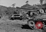 Image of US Army M4 Sherman tanks in Korean War Korea, 1952, second 12 stock footage video 65675044764