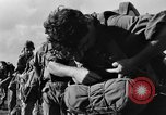 Image of French paratroops Indochina, 1950, second 5 stock footage video 65675044770