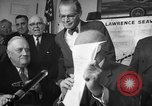 Image of President Dwight Eisenhower Washington DC USA, 1954, second 4 stock footage video 65675044780