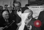 Image of President Dwight Eisenhower Washington DC USA, 1954, second 5 stock footage video 65675044780