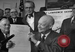 Image of President Dwight Eisenhower Washington DC USA, 1954, second 7 stock footage video 65675044780