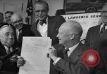 Image of President Dwight Eisenhower Washington DC USA, 1954, second 8 stock footage video 65675044780
